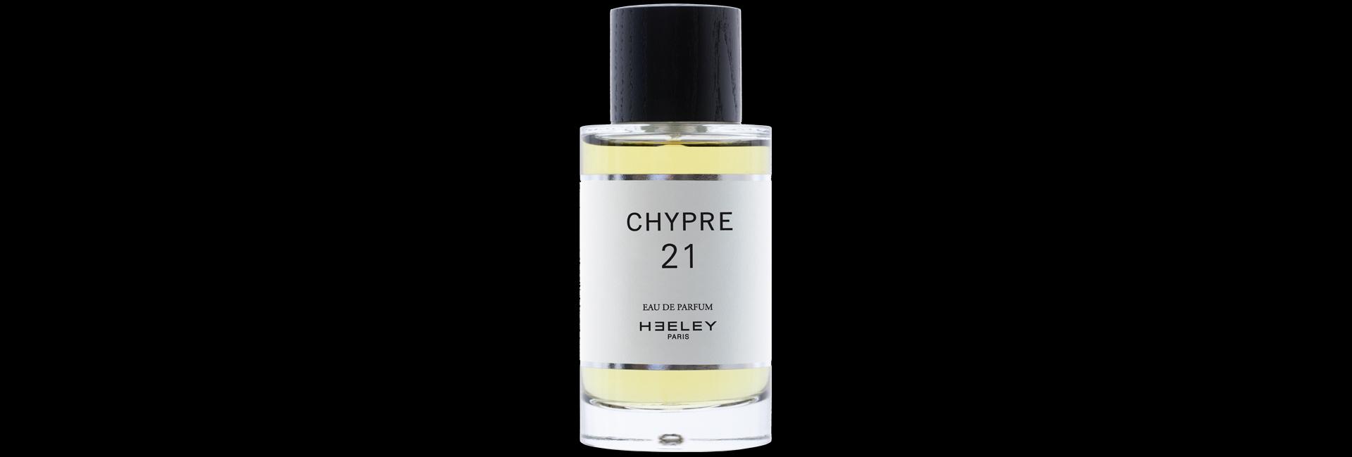 Chypre 21, nouvelle eau de parfum de James Heeley