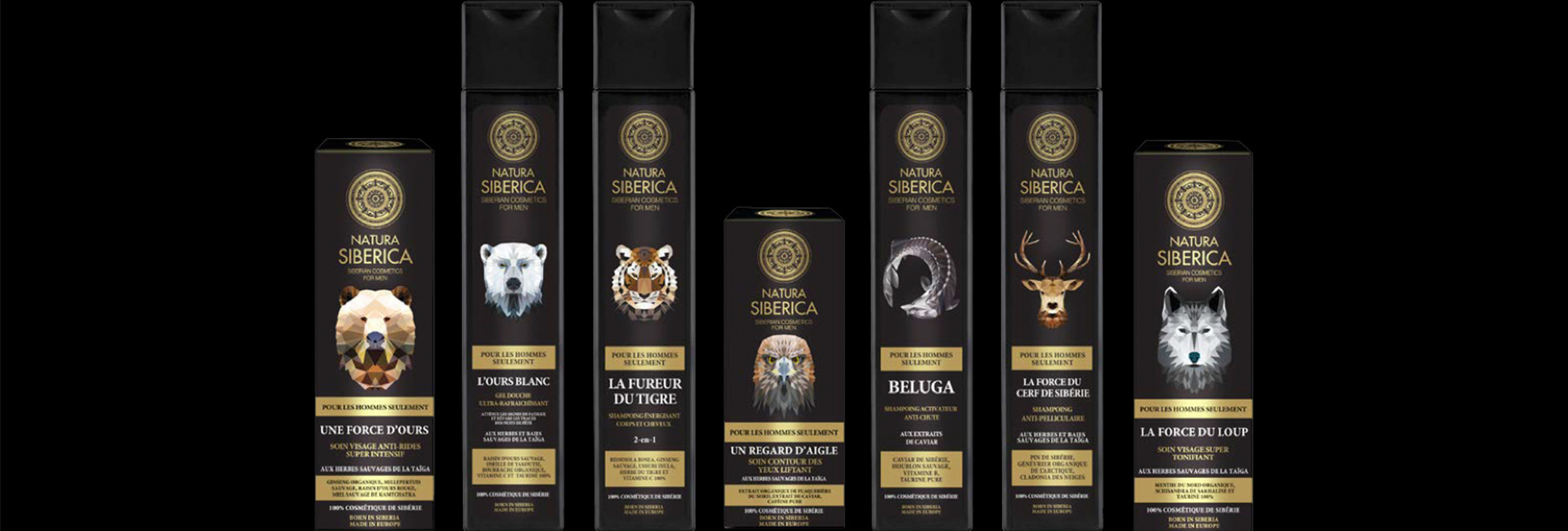 Gamme pour hommes, Natura Siberica