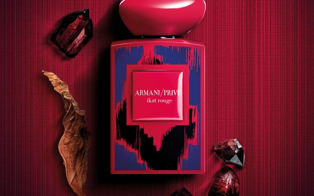 Symrise signe Ikat Rouge d'Armani / Privé