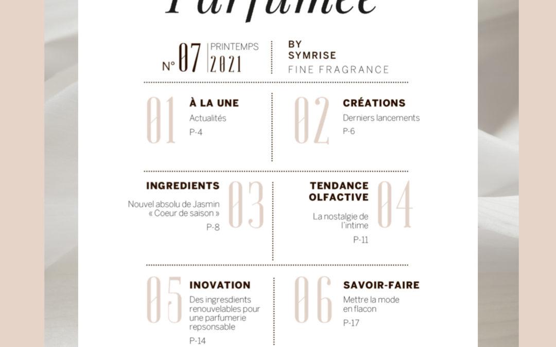 Lettre parfumée #7, toute l'actualité Symrise